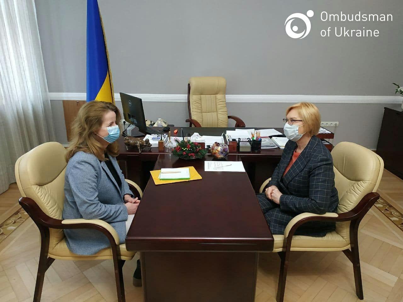 Зустріч Голови ДЕСС з Уповноваженим ВРУ з прав людини Людмилою Денісовою