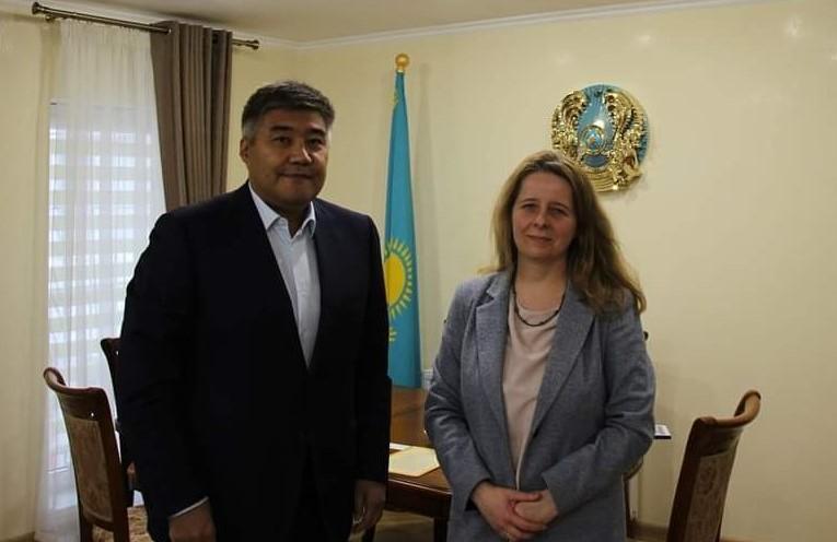 ДЕСС розвиває співпрацю з Посольством Казахстану в Україні