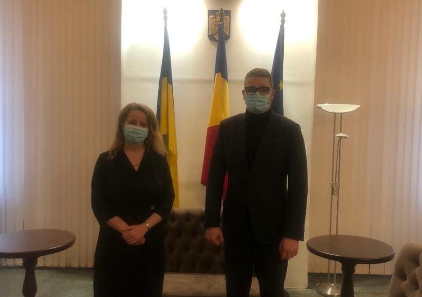 ДЕСС розвиває співпрацю з Посольством Румунії в Україні