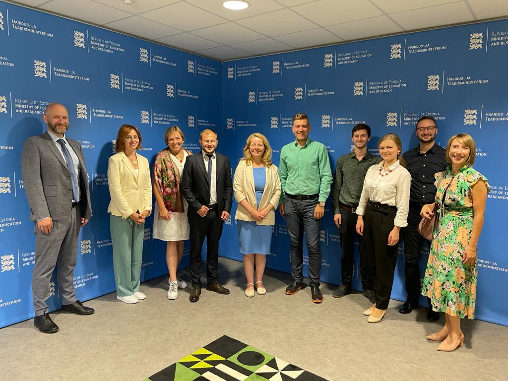 Read more about the article Делегація ДЕСС та ВКНМ ОБСЄ здійснили візит до Естонії з метою розвитку співпраці в питаннях політики інтеграції суспільства
